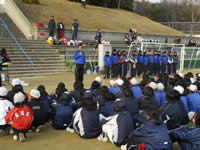 開会式と実業団選手の自己紹介が続き注意事項の説明がされて始まった。
